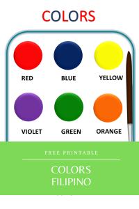 Colors Printable