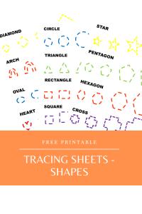 Tracing Sheets - Shapes