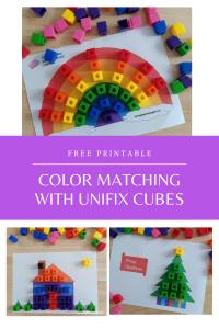 Unifix Color Matching Printables