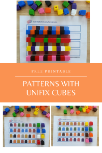 Unifix Patterns - Printable