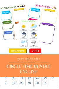 Circle Time Bundle - English